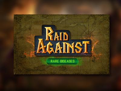 Raid Against Rare Diseases raster photoshop warcraft