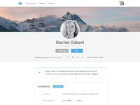 Peep profile v4 centered