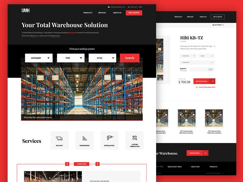 Industrial Ecommerce digital design ecommerce