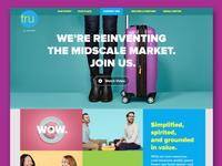 Tru by Hilton Homepage