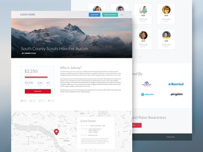 Crowdfunding Template Pages