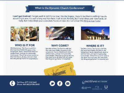 Dynamic Church 2012 Website website ui web design