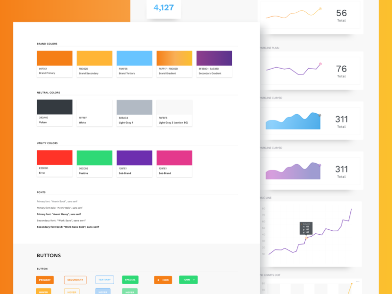 Atomic Design System ux product style guide ui