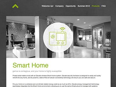 Recruiting Website.  website elevate product tech