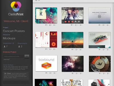 Sidebar ui webdesign sidebar website portfolio