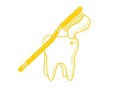 Dental Insurance dental insurance cavity toothpaste tooth toothbrush line illustration pattern vector illustration