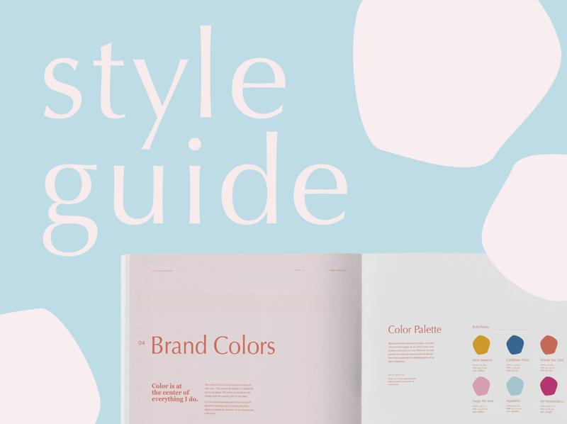 Style Guide | Alicia Hobbs Fine Art design branding identity design brand identity design brand identity style guide