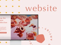 Website Design | Alicia Hobbs Fine Art fine arts branding online shopping ecommerce wix website builder website homepage design design web design graphic design