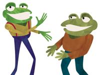 Frog & Toad Poster Artwork Revised