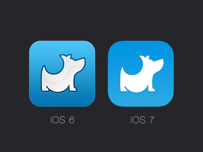 Belly iOS 7 Icon