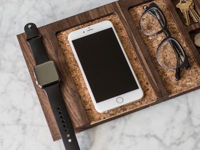 Composure Collection by Rest minimal marble ecommerce product physical cork iwatch apple watch walnut