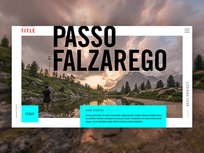 Project Preview – Portfolio Visual Design visual design design project portfolio