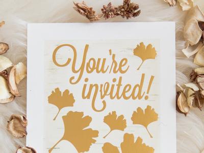 90th Birthday Invitation foil print gold foil 90th invitations birthday