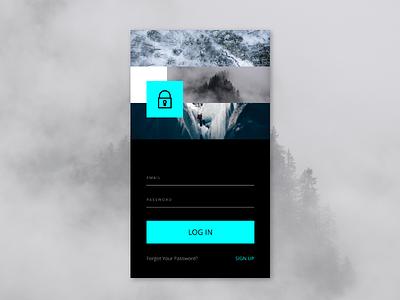 April 2018 – LOG IN UI DESIGN uiux ui sign up sign in log in