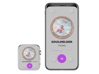 Pressed Pop Music Player (scroll for edits) neumorphism illustration dailyuichallenge vector uiux fun uidesign dailyui design ui