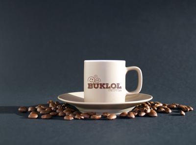 Buklol Cafe Logo Design
