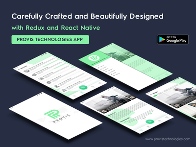 Provis Technologies App Design