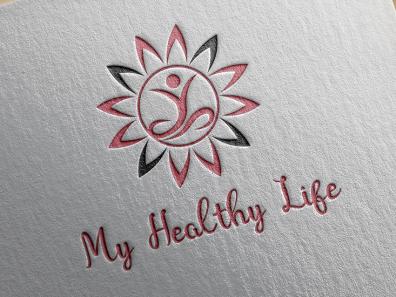 My Healthy Lifestyle Logo Sample