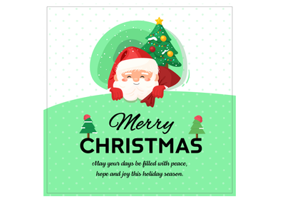 Christmas Templates Source File Available -Fully customized
