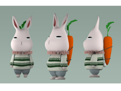 3D Character Modeling practice