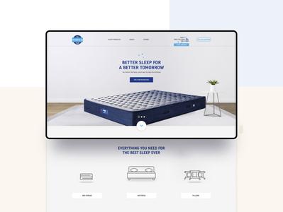 Mattress Website Template