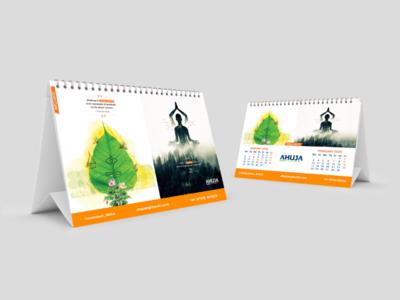 Desk Calendar Jan-Feb 2020