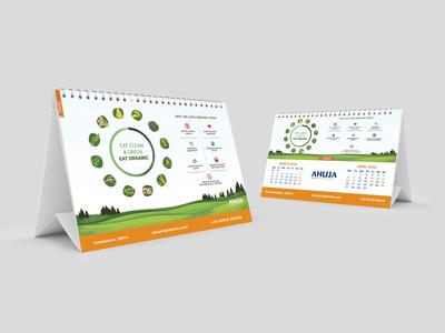 Desk Calendar Mar-Apr 2020