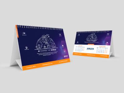Desk Calendar Jul-Aug 2020