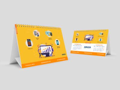 Desk Calendar Sep-Oct 2020