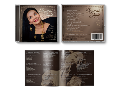 Crystal Gayle Album Artwork