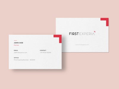 First Experia Business card