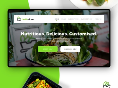 Healthalicous Website