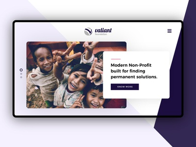 Valiant Foundation Website