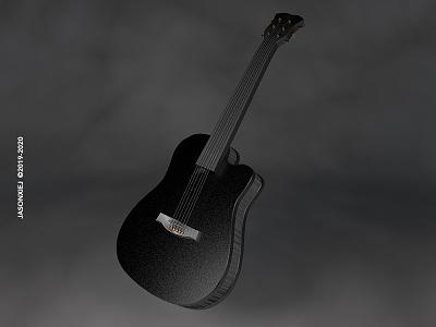 No.3 Guitar c4d