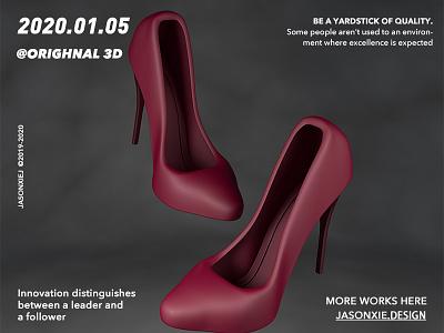 No.5 High-heeled shoes