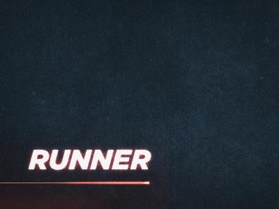 Runner textures lighting blue red