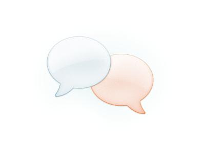 Bubs chat bubbles communication conversation
