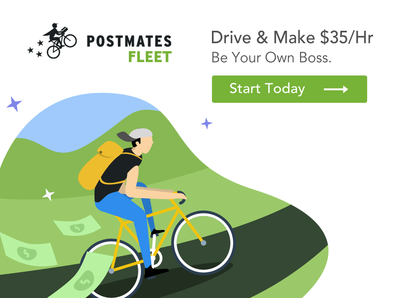 Offer Ad Postmates by Charlie Ramos on Dribbble