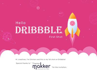 Hello Dribbble nodejs flutter react native reactjs angular laravel php mobile app design uxdesign uidesign uiux webdesign