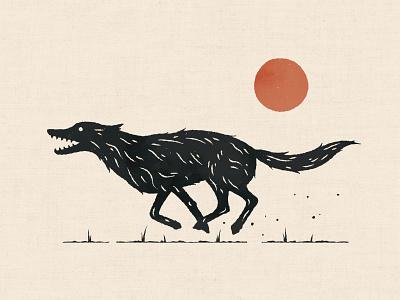 Smile E. Coyote texture run fur sun coyote
