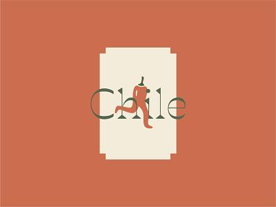 Chile brand identity spicy hot southwest fruit icon illustration logo
