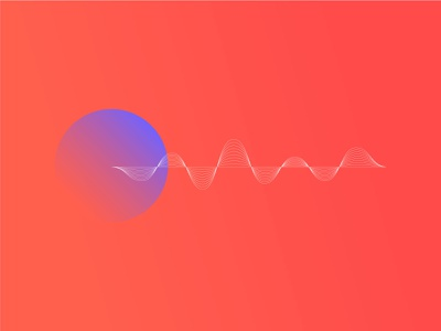 Sine wave geometric space equation sci-fi science