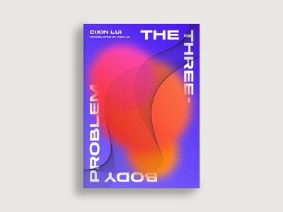The Three Body Problem alien star space sine wave equation physics science sci-fi book cover book