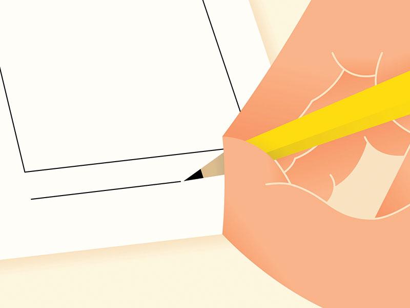 Storyboarding paper writing hand storyboard pencil