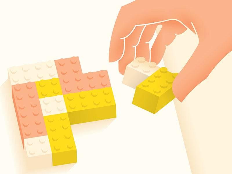 Legos lego hand build illustration blocks