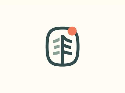 REI co-op sun tree logo