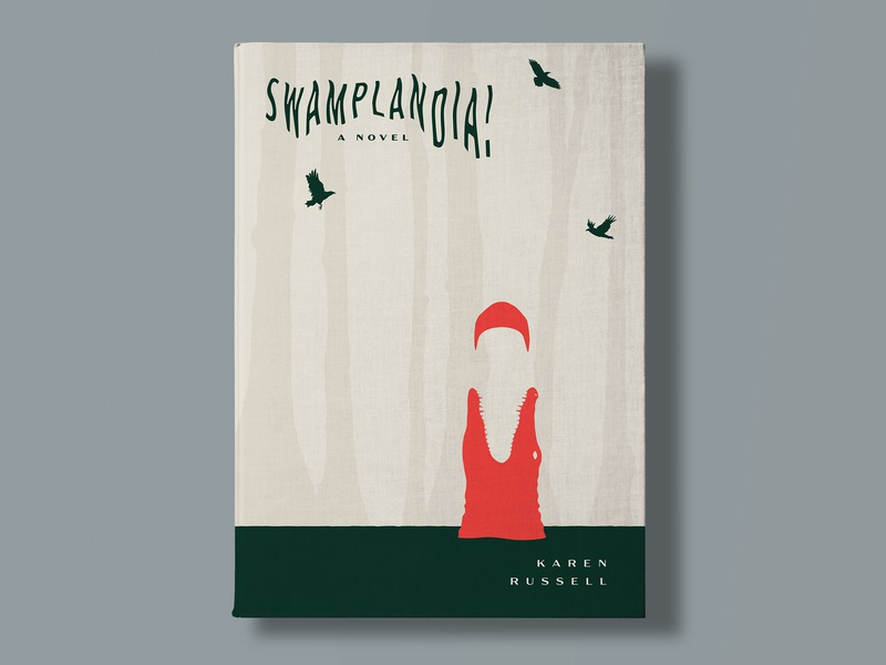 SWAMPLANDIA! bathing suit crow alligator swamp novel cover book