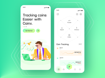 Tracking coin Mobile Application uiux coinbase coin coins tracker user interface designer mobile app design mobile ui mobile app mobile website user interface webdesign userinterface user interface design user experience app design ui  ux uidesign app