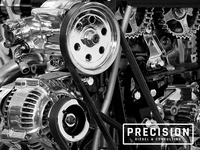 Precision Diesel & Consulting Logo Usage 1