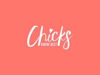 Chicks Know Best Logo Design